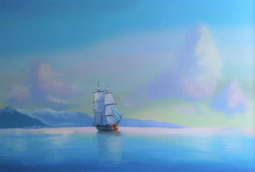 Lilita Salimova. Ship off the coast - photo 2