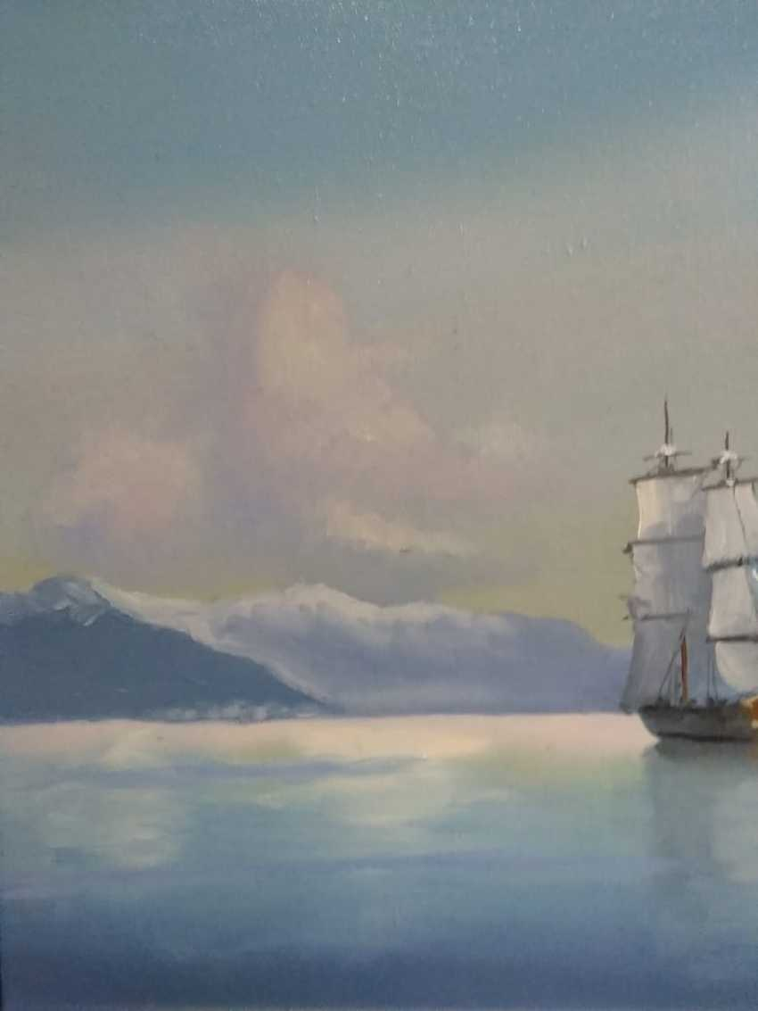 Lilita Salimova. Ship off the coast - photo 3