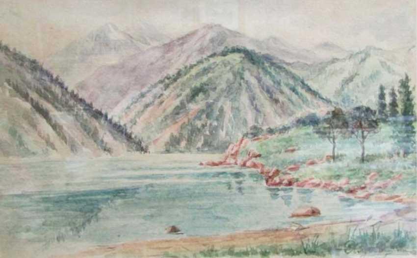 Sketch on paper the Nikolai Khludov - photo 1
