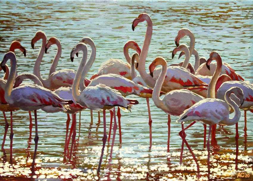 """Alexander Samokhvalov. """"The birds are stately"""" - photo 1"""