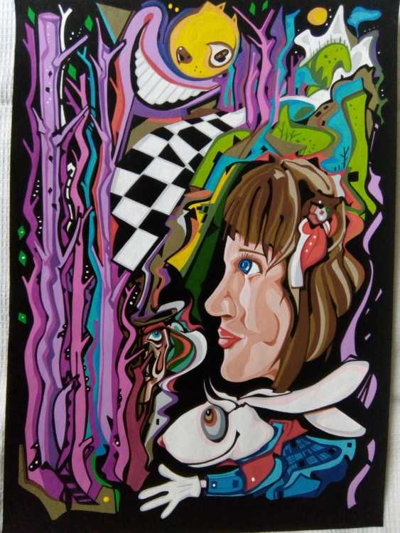 Yuliya Yuliya. In den Fantasien von Lewis Carroll - Foto 1