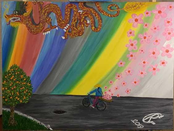 "Rustem Garifullin. ""Dragon and Cyclist"" - photo 1"