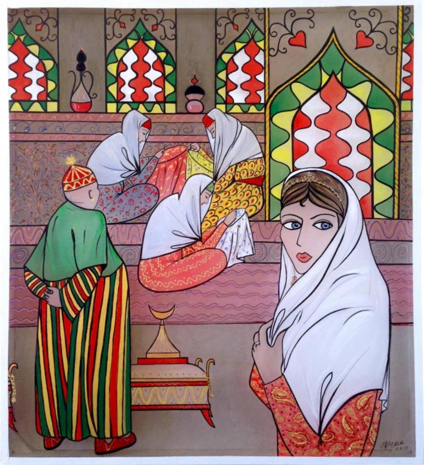 "Elena Zimovets. ""Fairy tales of Scheherazade.1001 night"" - photo 1"
