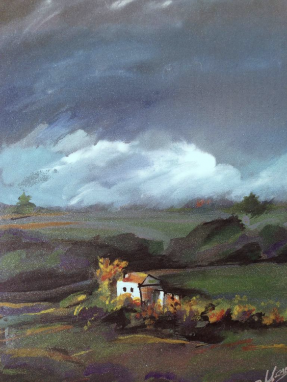 "Elena Zimovets. ""Before de storm"" - photo 2"