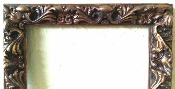 Antique painting frame. Wood, plaster. Restored! - photo 4