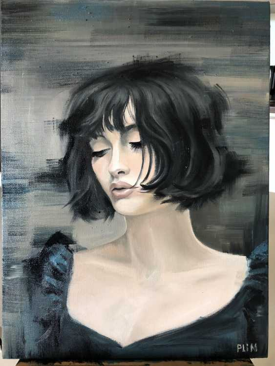 Polina Kuprianova. Portrait of a girl - photo 1