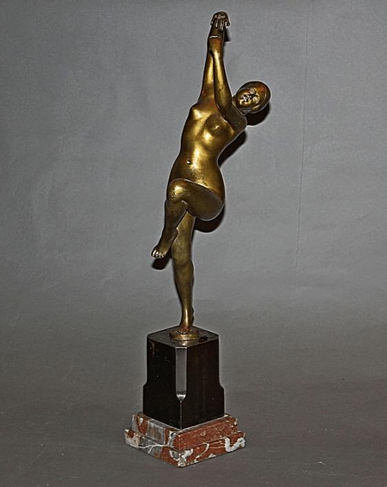 France, 1920 -ies, the sculptor H. Calot - photo 1