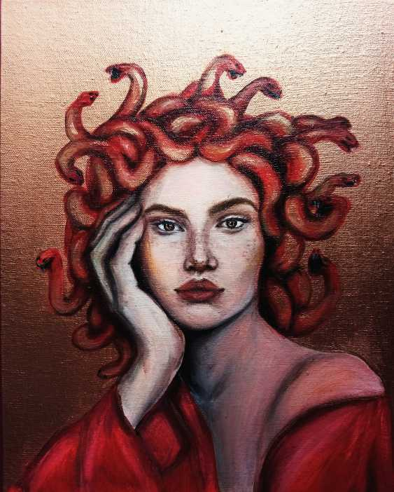 Iren Rogovska. gold medusa \ gold medusa - photo 1