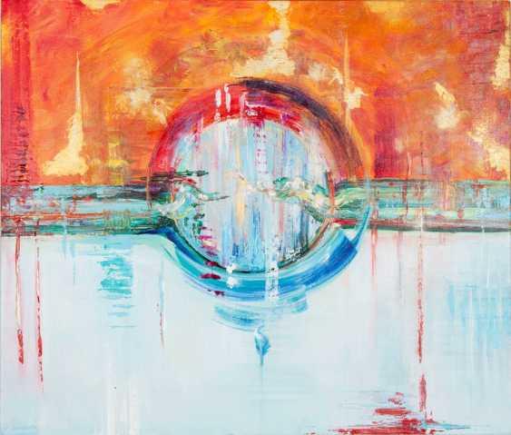Mary Romanova. THE BIRTH OF THE WORLD acrylic abstraction - photo 1