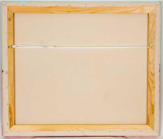 Mary Romanova. THE BIRTH OF THE WORLD acrylic abstraction - photo 6