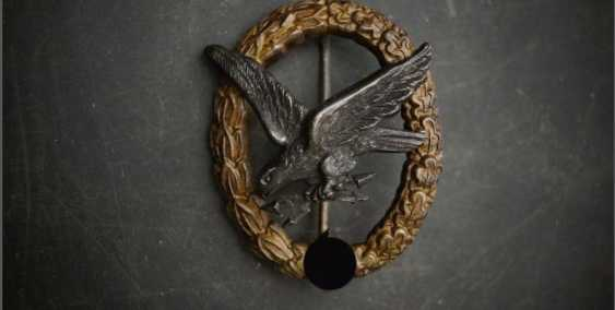 Luftwaffe gunner badge with lightning bolt - photo 1