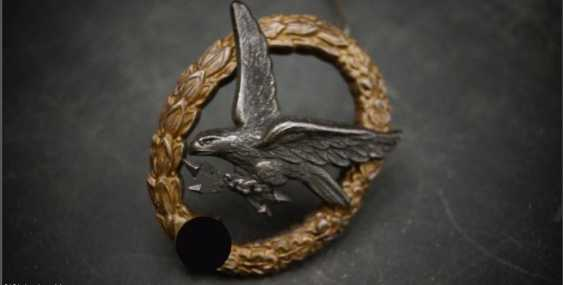 Luftwaffe gunner badge with lightning bolt - photo 7