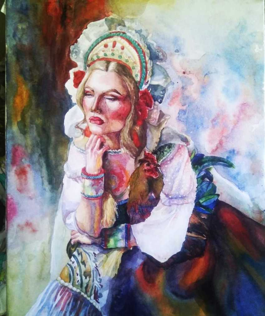Александра солдатенко. Томный взгляд - фото 1