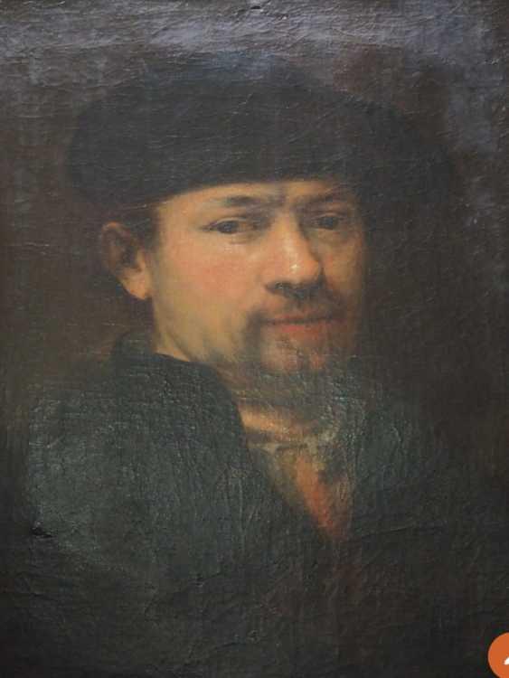 Rembrandt's self-portrait - photo 1