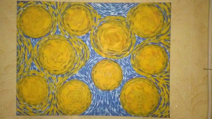 Nataliya Kutikhina (Bronstein). Ten suns (10 suns) - Foto 1