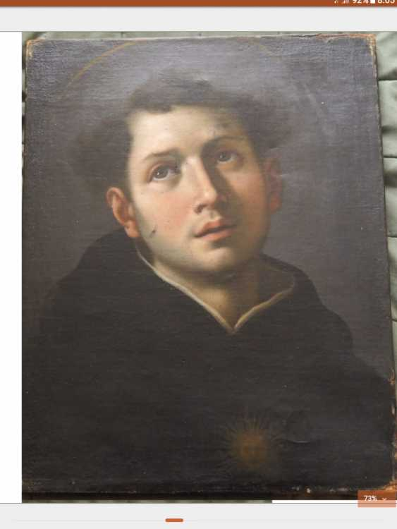 Portrait of a priest. St. Lawrence - photo 1