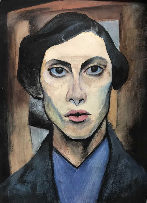 Polina Kuprianova. A copy of Altman's self-portrait - photo 1
