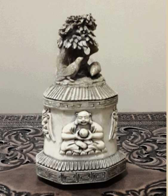"""""""Garden of Eden"""" bone carving - photo 1"""
