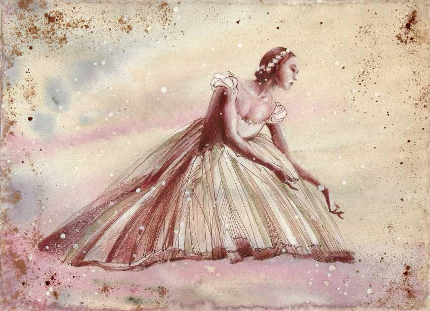 Natasha Mishareva. Ballet, ballet, ballet ... Drawing, handmade, 2020 Author - Natalia Mishareva - photo 1
