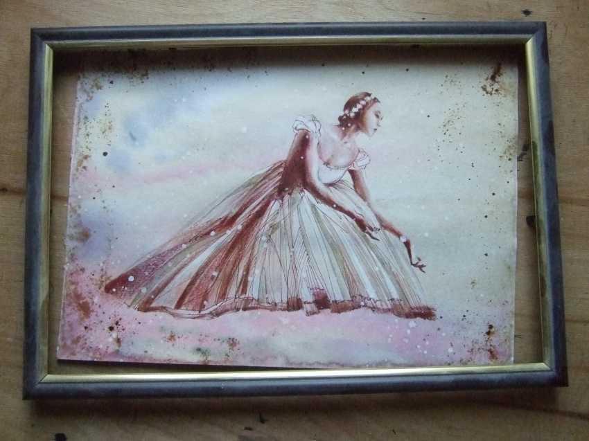 Natasha Mishareva. Ballet, ballet, ballet ... Drawing, handmade, 2020 Author - Natalia Mishareva - photo 2