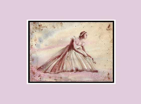Natasha Mishareva. Ballet, ballet, ballet ... Drawing, handmade, 2020 Author - Natalia Mishareva - photo 3