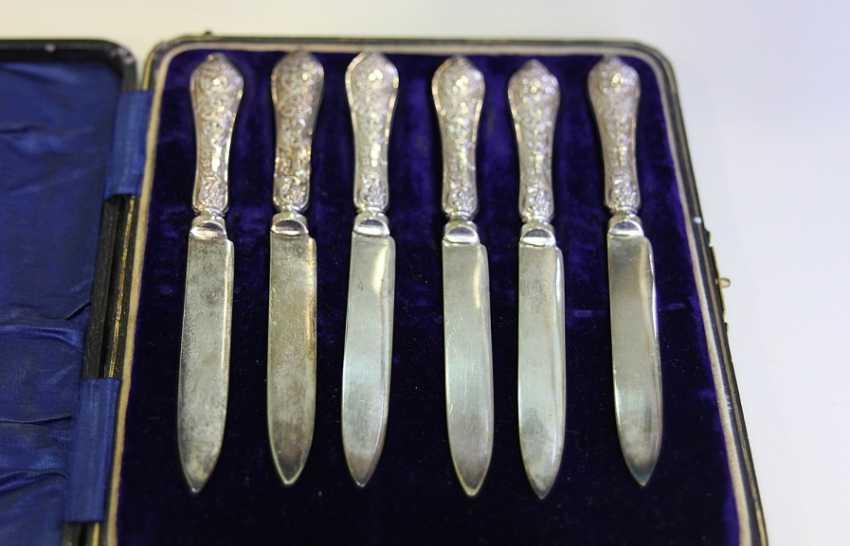 Set de couteaux milieu du 18 siècle,en Angleterre - photo 1
