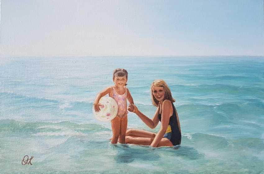 """Olha Krasko. """"Bekanntschaft mit dem Meer"""" - Foto 1"""