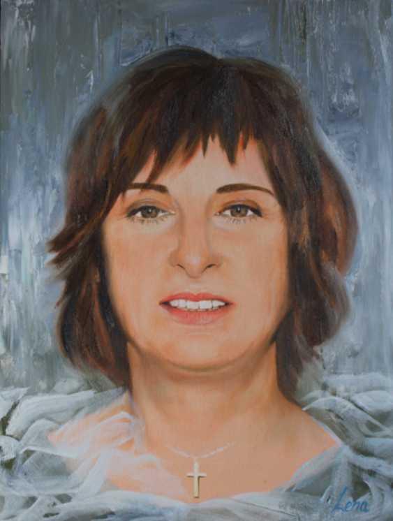 Lena Britova. Portrait from a photo. Oil Portrait Handmade, Custom Portrait From Photo. - photo 1