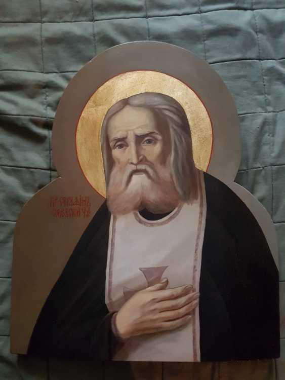 Icon of Seraphim of Sarov - photo 1