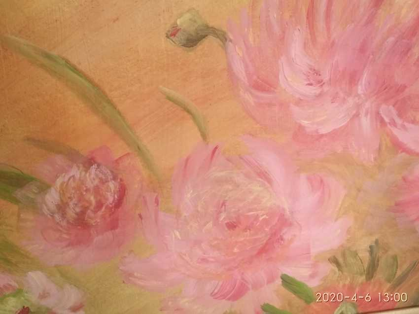 Elena Kozar-Gurina. Fleurs. Pivoines. Fleurs, pivoines. - photo 1