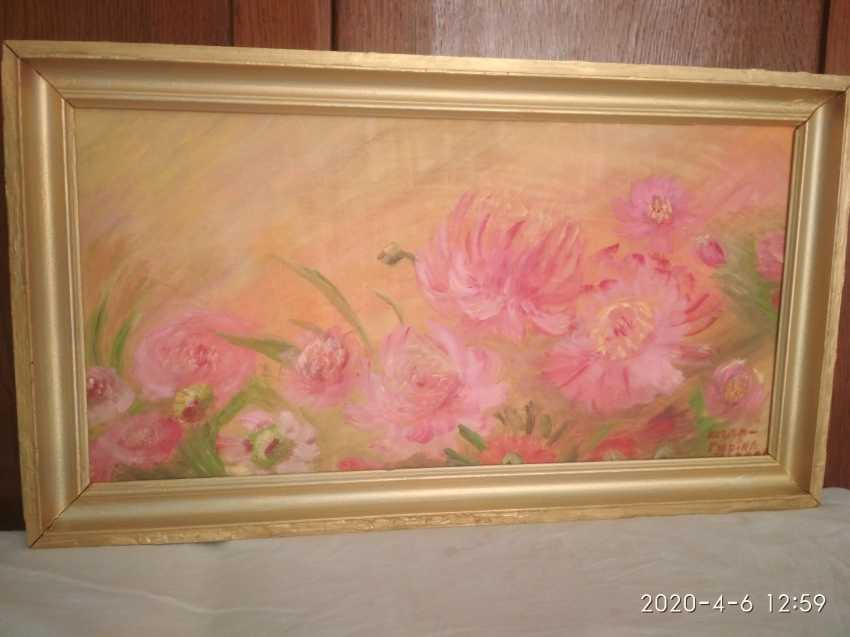 Elena Kozar-Gurina. Fleurs. Pivoines. Fleurs, pivoines. - photo 2