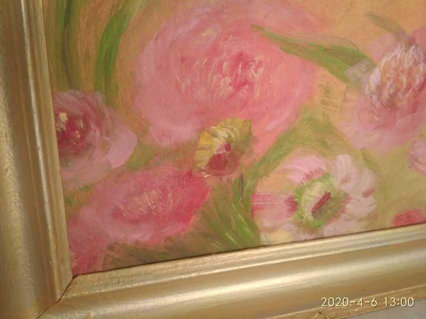 Elena Kozar-Gurina. Fleurs. Pivoines. Fleurs, pivoines. - photo 3