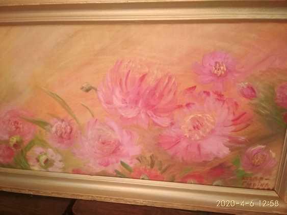 Elena Kozar-Gurina. Fleurs. Pivoines. Fleurs, pivoines. - photo 4