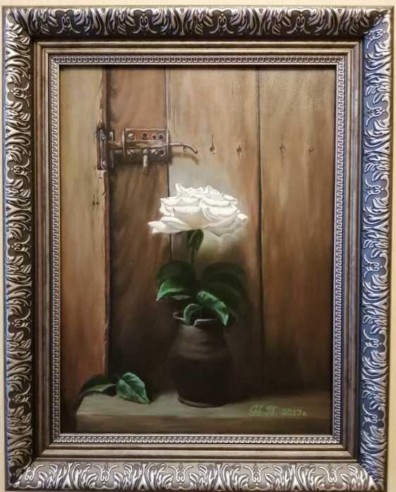 "Natalya Parshina. ""Rose dans une cruche"" - photo 1"