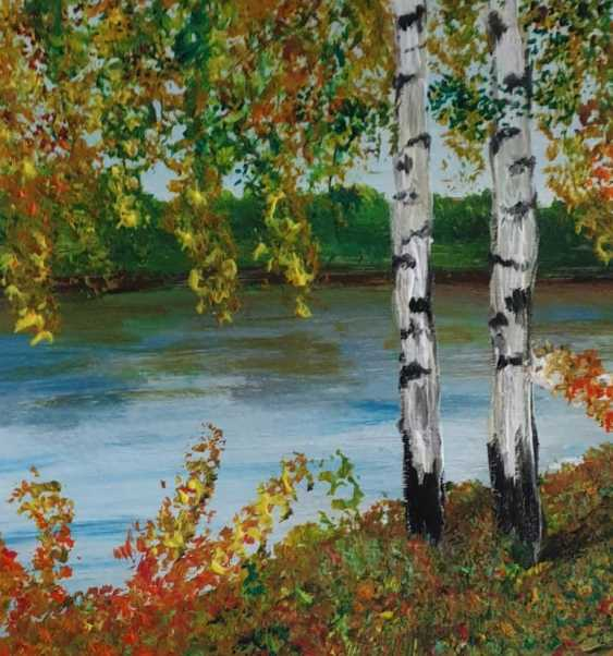 Natasha Matishak. Birch trees. Fall - photo 3