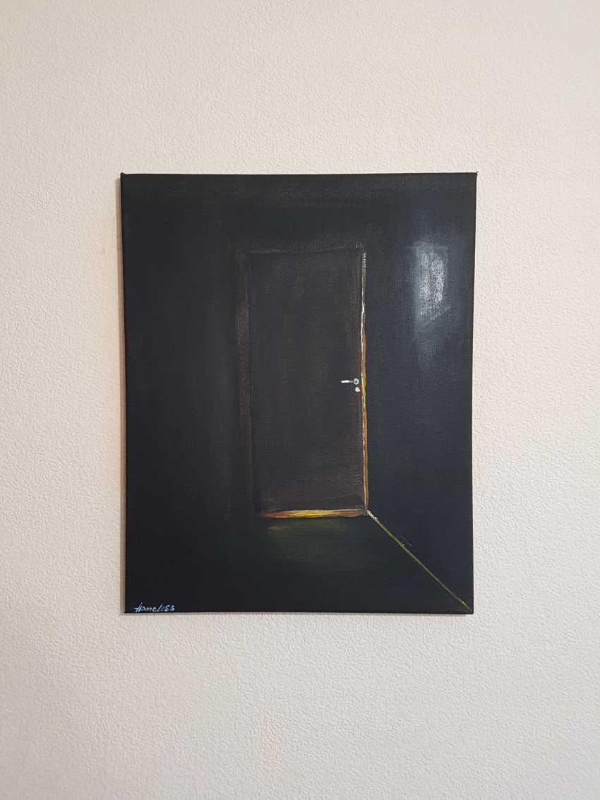 Artur Bibolov. Behind the ajar door - photo 1