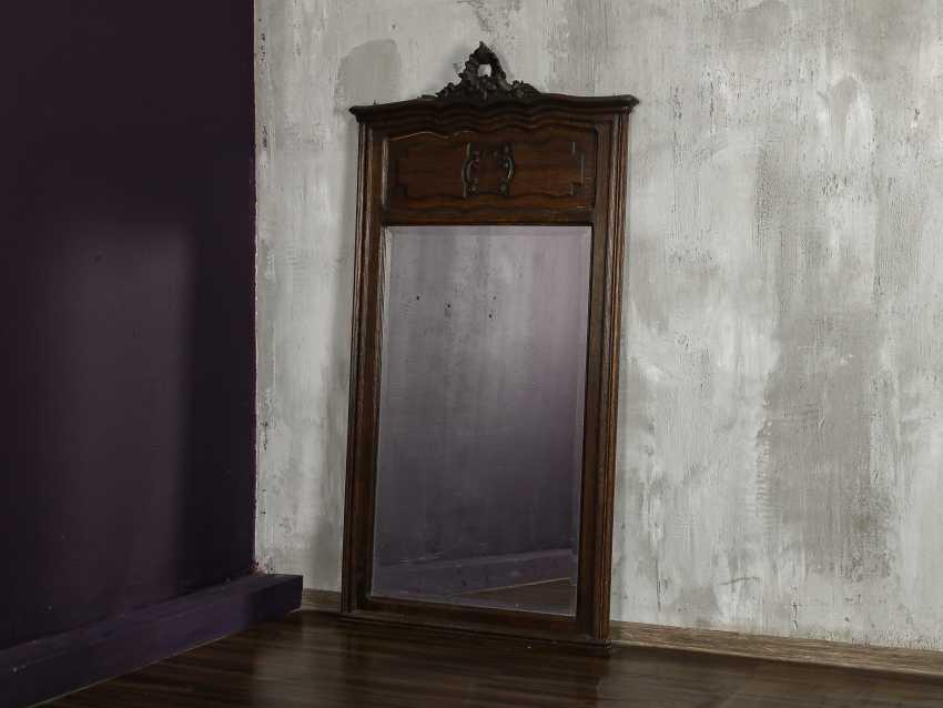 Antique floor mirror - photo 1