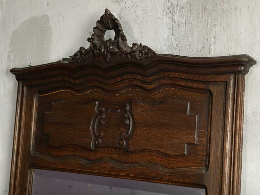 Antique floor mirror - photo 6