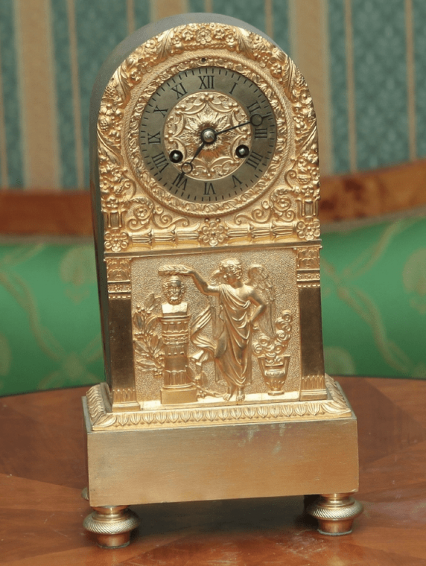 Mantel clock France, 1820 -1830 G. - photo 1