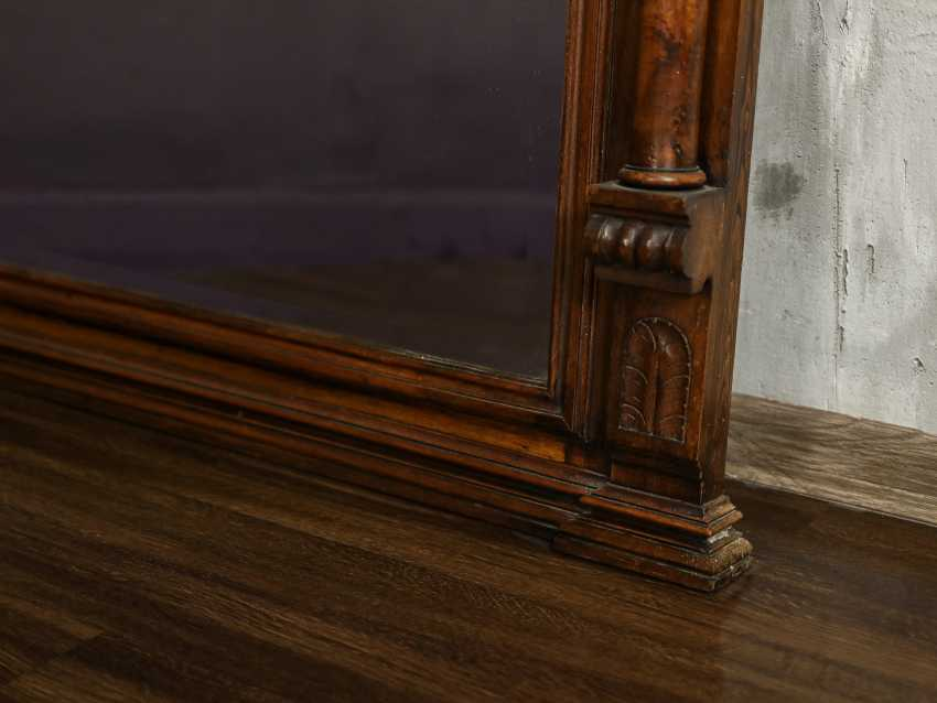 Antique floor mirror - photo 2