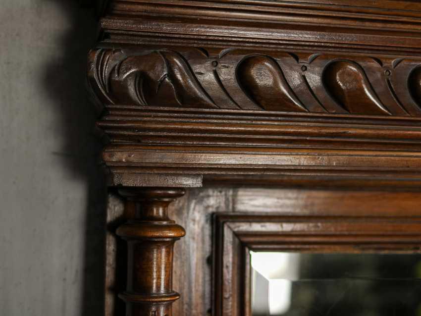Antique floor mirror - photo 4