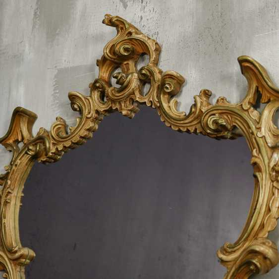 Antique carved mirror - photo 6