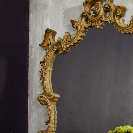 Antique carved mirror - photo 7