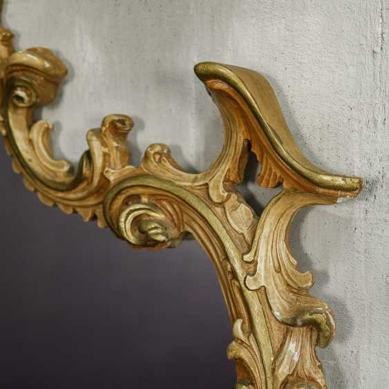 Antique carved mirror - photo 8