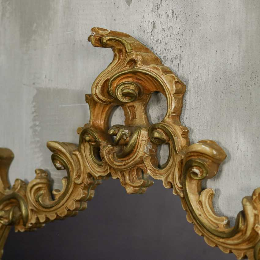 Antique carved mirror - photo 9