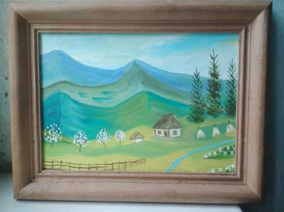 Elena Kozar-Gurina. Ein Haus in den Karpaten. Kleines Haus in den Karpaten. - Foto 1