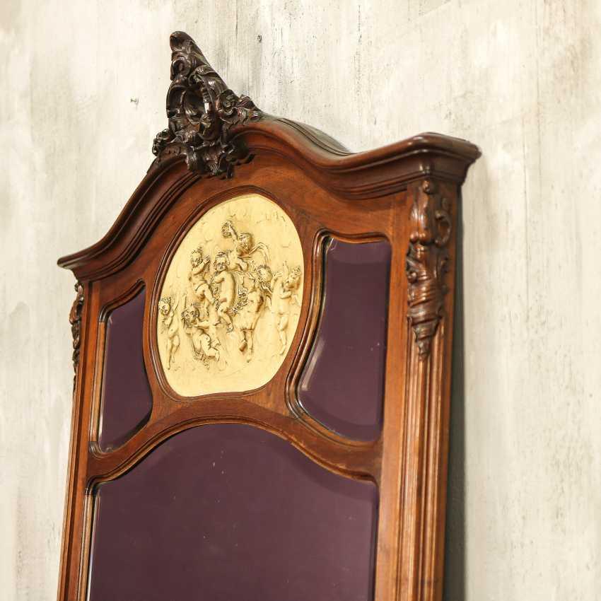 Antique floor mirror - photo 5