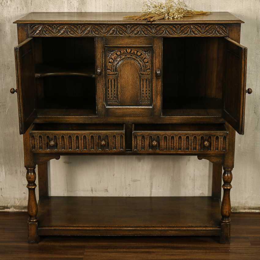 Antique cabinet cabinet - photo 5