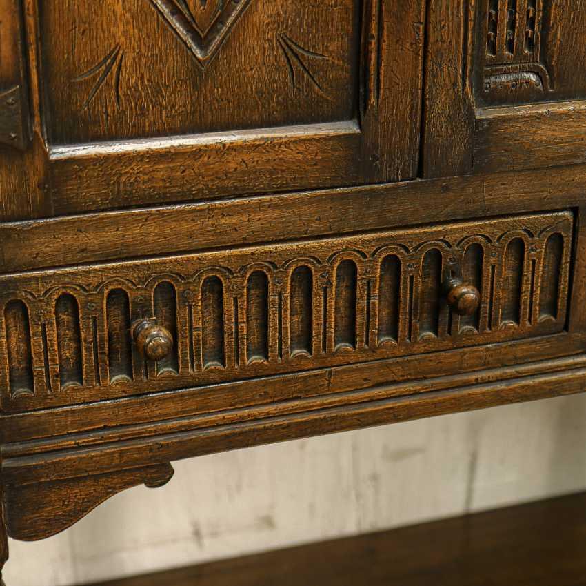 Antique cabinet cabinet - photo 7