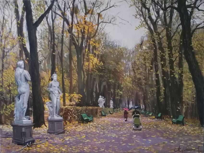 "Aleksej Korabelnikov. ""Herbst im Sommergarten"" - Foto 1"
